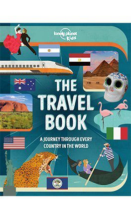 The Travel Book Lonely Planet Kids US version