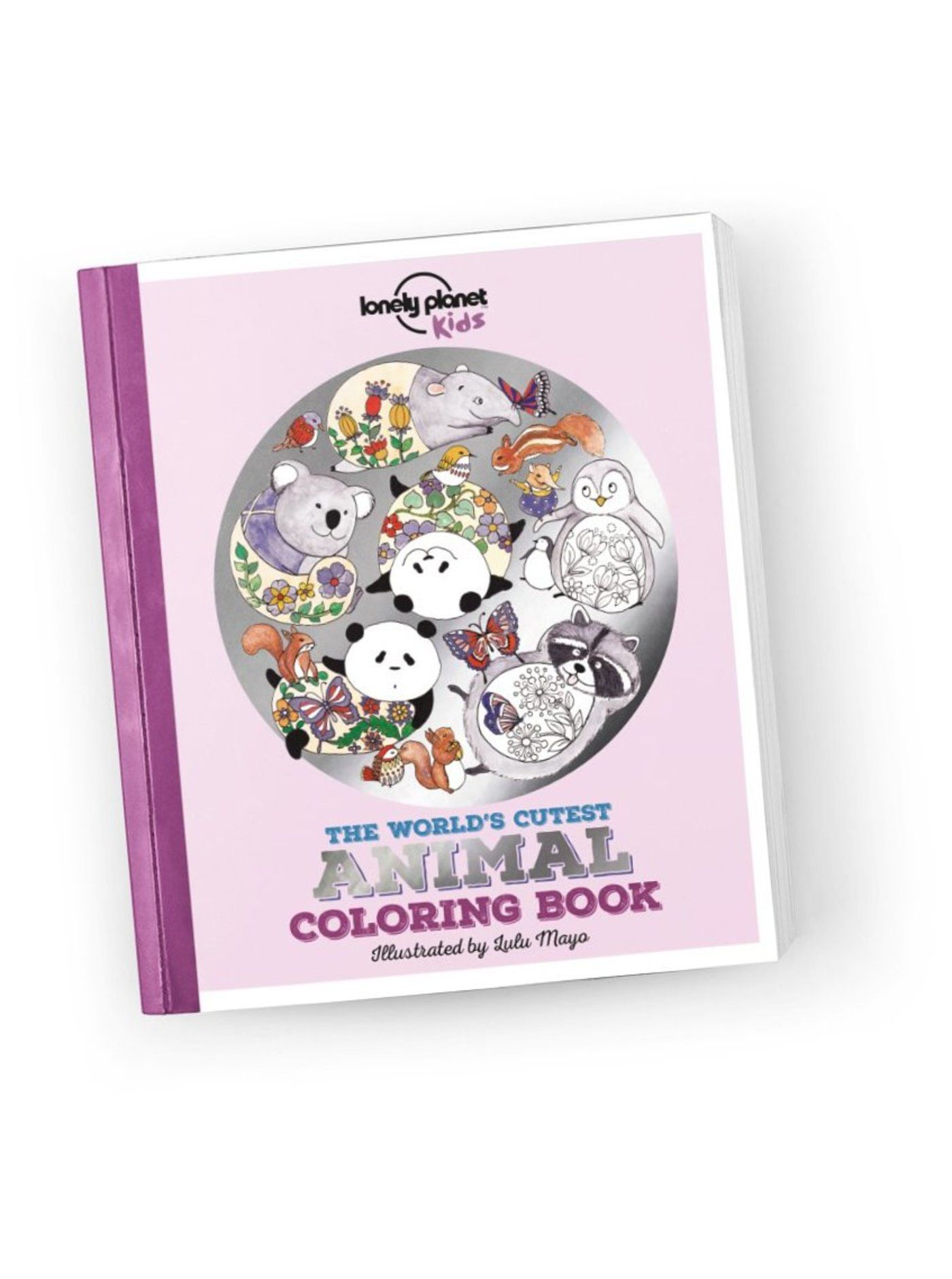 The World\'s Cutest Animal Coloring Book - Lonely Planet Online Shop ...