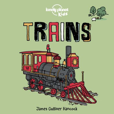 Trains: Board Book (North & South America edition)