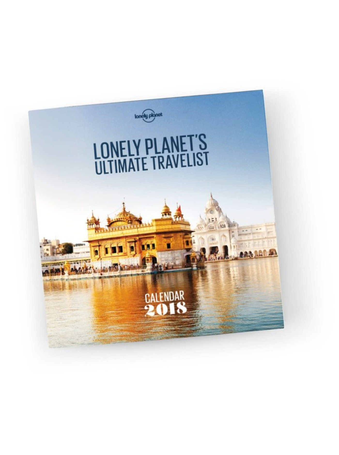 Ultimate Travel Wall Calendar 2018