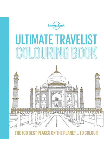 Lonely Planets Ultimate Travelist Colouring In Book