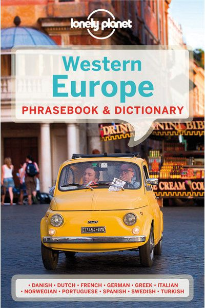 Lonely planet western europe phrasebook lonely planet us fandeluxe Gallery
