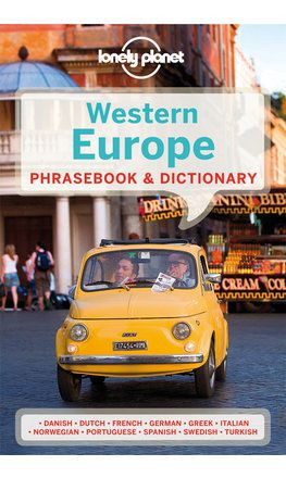 Western Europe Phrasebook - 5th edition