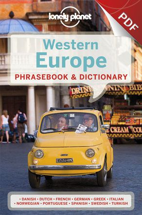 Western Europe Phrasebook - French (PDF Chapter)