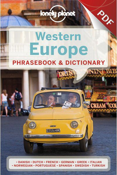 Western Europe Phrasebook - German (PDF Chapter)