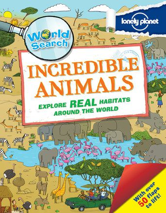 World Search - Incredible Animals (North and South America edition)