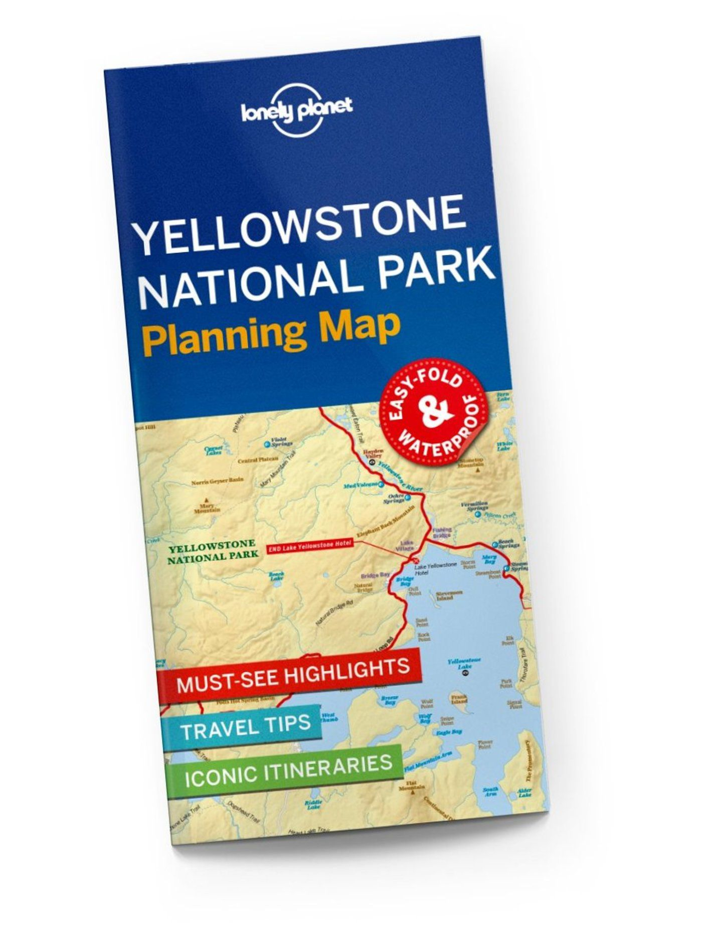 Yellowstone National Park Planning Map Lonely Planet Us - Yellowstone-us-map