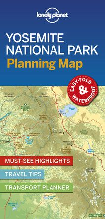 Yosemite National Park Planning Map